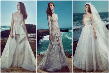 Tengernyi gyönyörűség Zuhair Murad jövő évi esküvői ruháin