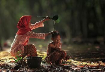 Gyereskedés Indonéziában
