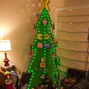 Az igazán kreatív karácsonyfák