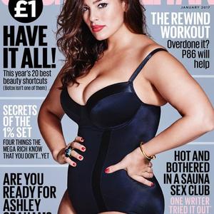 Plus size modell újra a Cosmo címlapján!