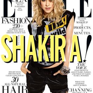 Shakira Elle borítón