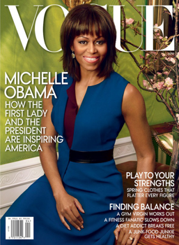A First Lady második Vogue címlapja