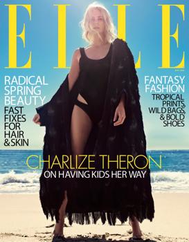 Charlize Theron csak feketében
