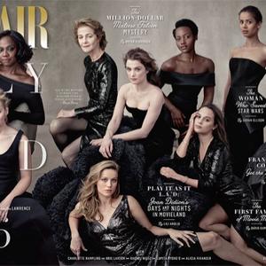 A (színész)nők előtt tiszteleg a Vanity Fair