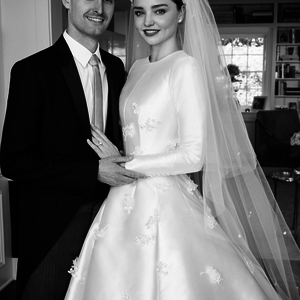 Dior esküvői ruha Miranda Kerr második igenjéhez!
