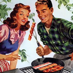 Egy kis bacon a szakállnak és itt a szerelem?