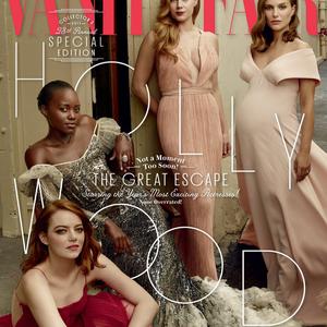 Natalie Portman pocakosan állt modellt a Vanity Fairnek