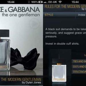 Dolce & Gabbana - Modern Gentleman iPhone App