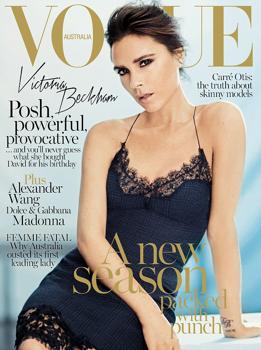Victoria Beckham ausztrál borítón