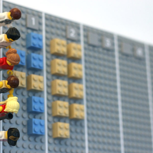 Lego kalendárium: rakd ki a naptáradat!