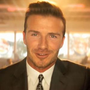 David Beckham a Burger King arc!