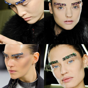 Chanel kristályt a szemöldökre...?!