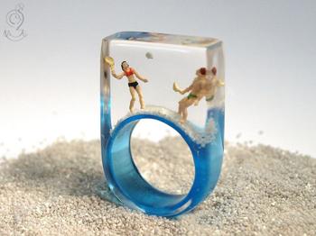 Miniatűr csodák a gyűrűsön