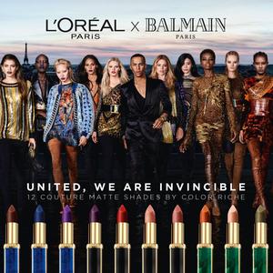 Balmain és L'Oreal Paris: rúzsok a javából!
