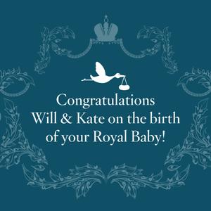 """Megszületett a """"kis herceg""""!"""