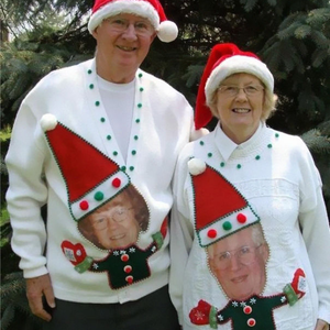 A legrandább karácsonyi csúnya pulcsik evör