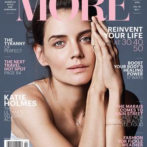 Katie Holmes minimál sminkben