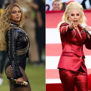 Ez volt tegnap este Lady Gagán és Beyoncén!