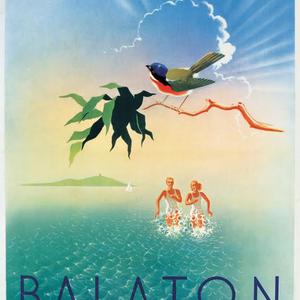 Mert akkor is a Balaton a Riviéra! - plakáton is!