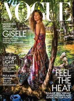 Gisele Bundchen kifeküdt a Vogue számára