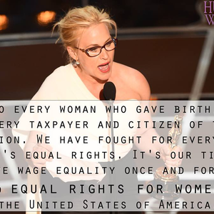 Patricia Arquette: elérkezett a nők ideje!