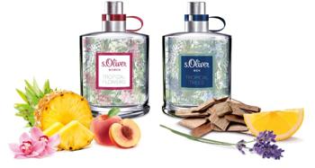 Trópusi virágok egy igazán jókedvű illatpárban: S. Oliver újdonságok
