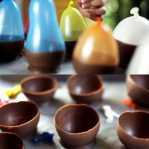Tálka csokoládéból