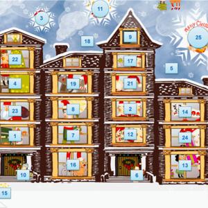 Karácsonyi készülődés a számítógép előtt