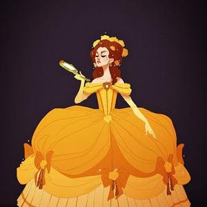 Disney-hercegnők más ruhákban
