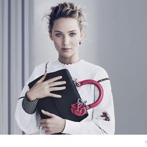 Jennifer Lawrence és a Dior táskák éhezés nélkül