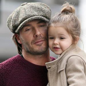 A világ egyik legcukibb apa-lánya párosa: Beckhamék