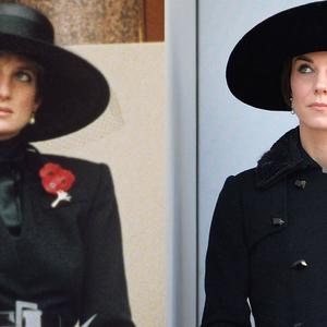 Diana hercegnő és Kate Middleton ruhái - nézzetek nagyot!