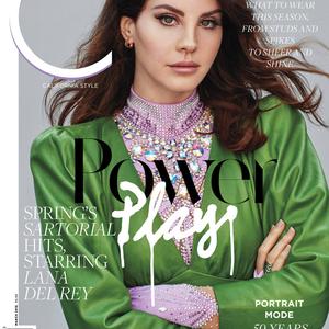 Lana Del Rey újra glamúr a C magazinban