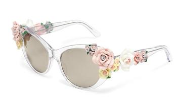 A Dolce virágos szemüvegei