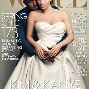 A Kardashian házaspár Vogue címlapon