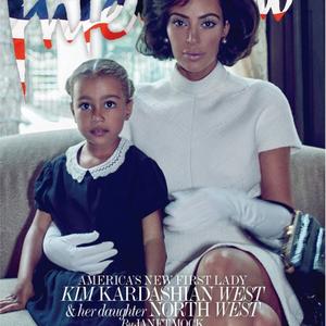 OMG! Kim Kardashian Jackie Kennedyként