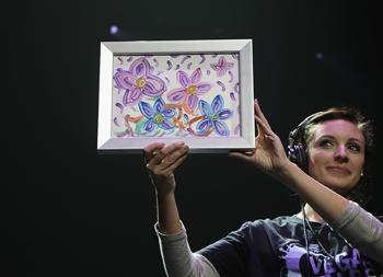 Britney Spears festménye 10 000 dollárért kelt el