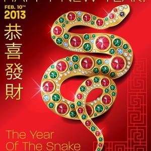 Bekúszott a Kígyó éve!