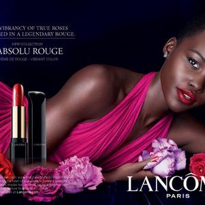 Lupita új Lancome hirdetése