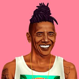 Obama elnök hipszter lett