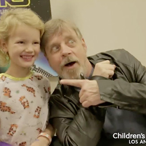 Star Wars járat a gyerekkórházban