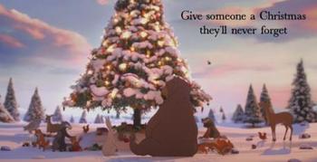 Egy tündéri karácsonyi hirdetés