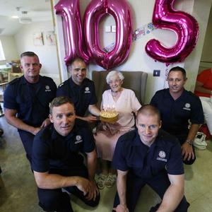 105 évesen csak egy kívánsága volt a születésnapjára....