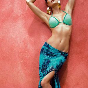 Isabeli Fontana brazil módra