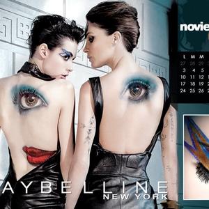 Itt a Maybelline naptár!