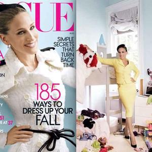 Sarah Jessica Parker a Vogue mama