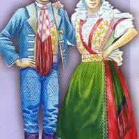 A különleges kapuvári viselet