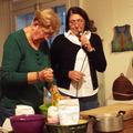 Kozona és csángó galuska: Nyisztor Tinka   előadása  a moldvai étkezési szokásokról