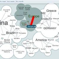 Interaktív véleményfelhő - Magyarország az érdeklődés középpontjában
