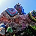 Toszkána titka: Niki de Saint Phalle csodálatos Tarot-kertje